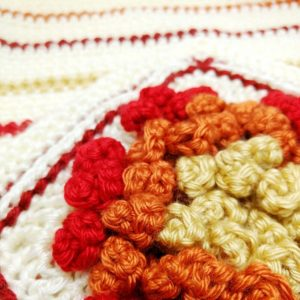 Chysanthemum Granny Square - Free Crochet Pattern